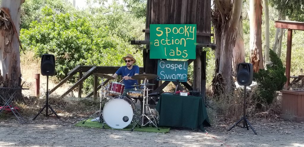 Spooky Action Labs: Making Music with Time, Place, and… Nature?