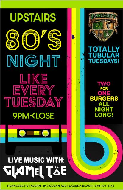 80s Night Every Tuesday