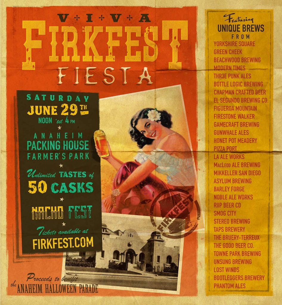 Firkfest Cask Beer Fiesta Comes to Anaheim June 29th