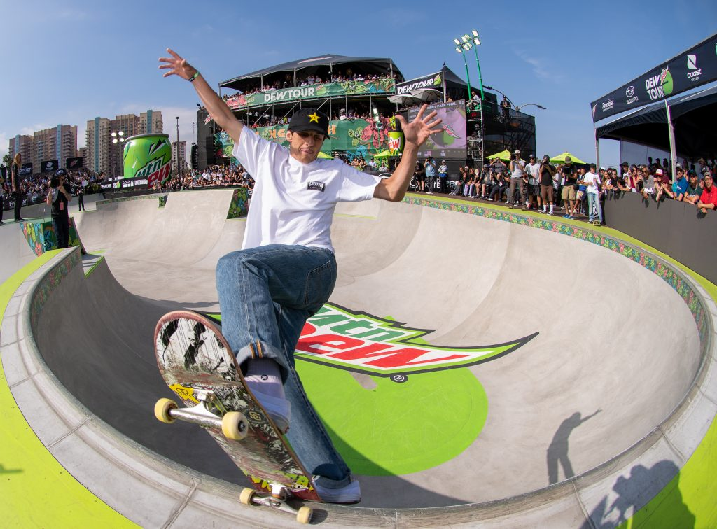 Skateboards and Warren G Dominate LBC's Dew Tour