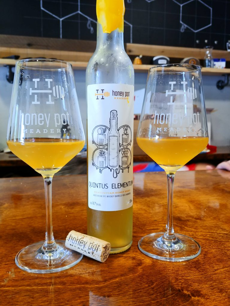 Quintus Elementum from Honey Pot Meadery, Our Drink of the Week!