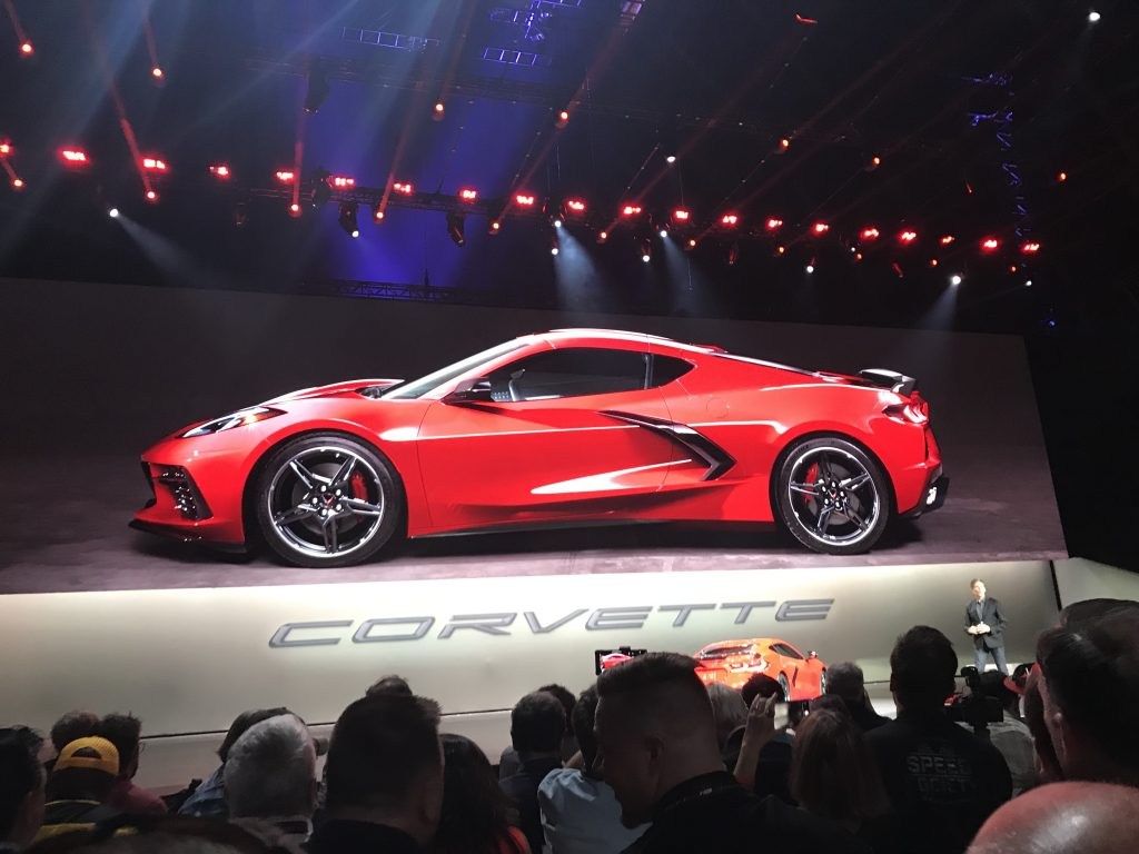 Here is a Barely Revealing 2020 Chevy Corvette Stingray Reveal