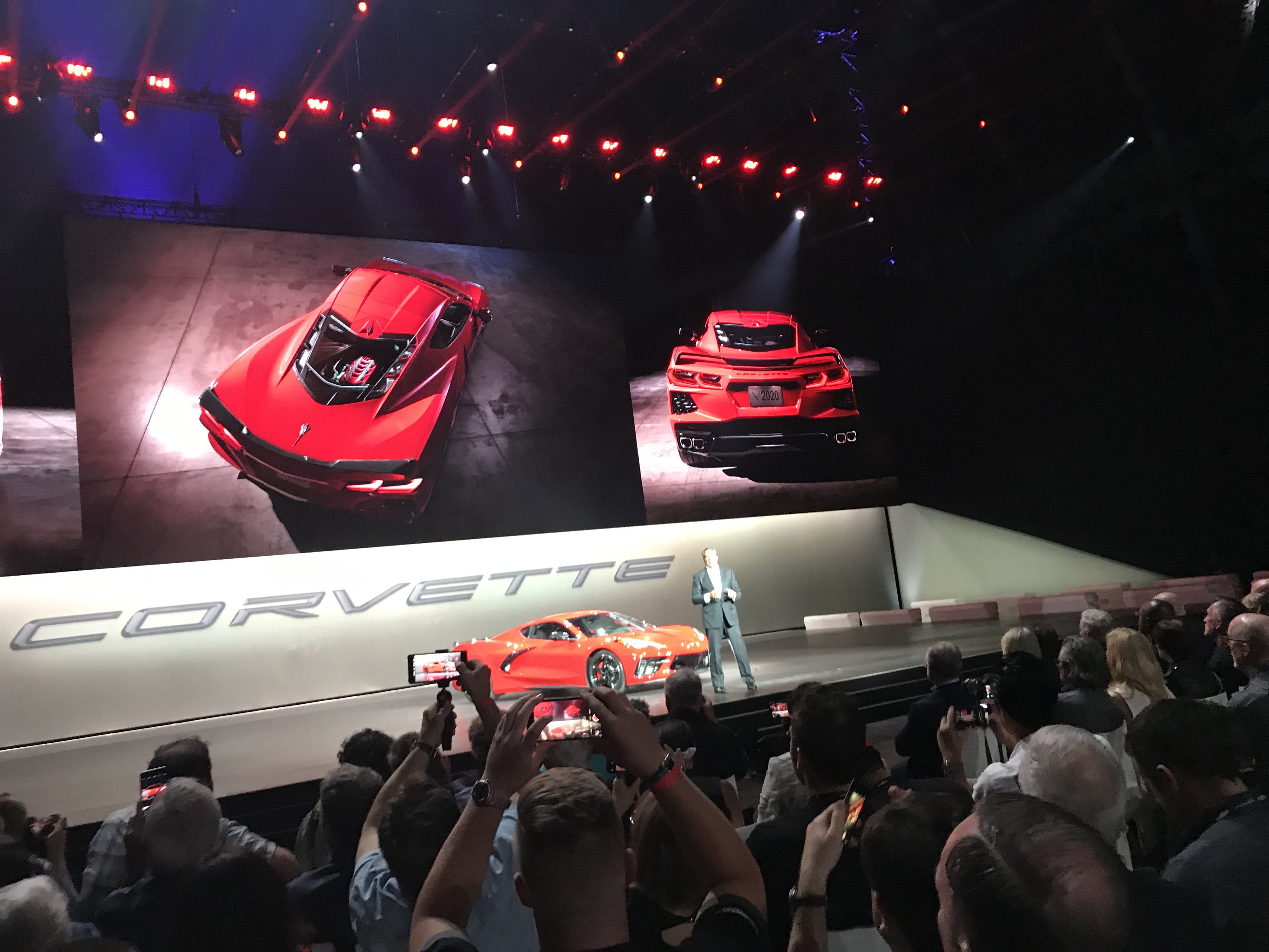 Here Is A Barely Revealing 2020 Chevy Corvette Stingray Reveal Oc