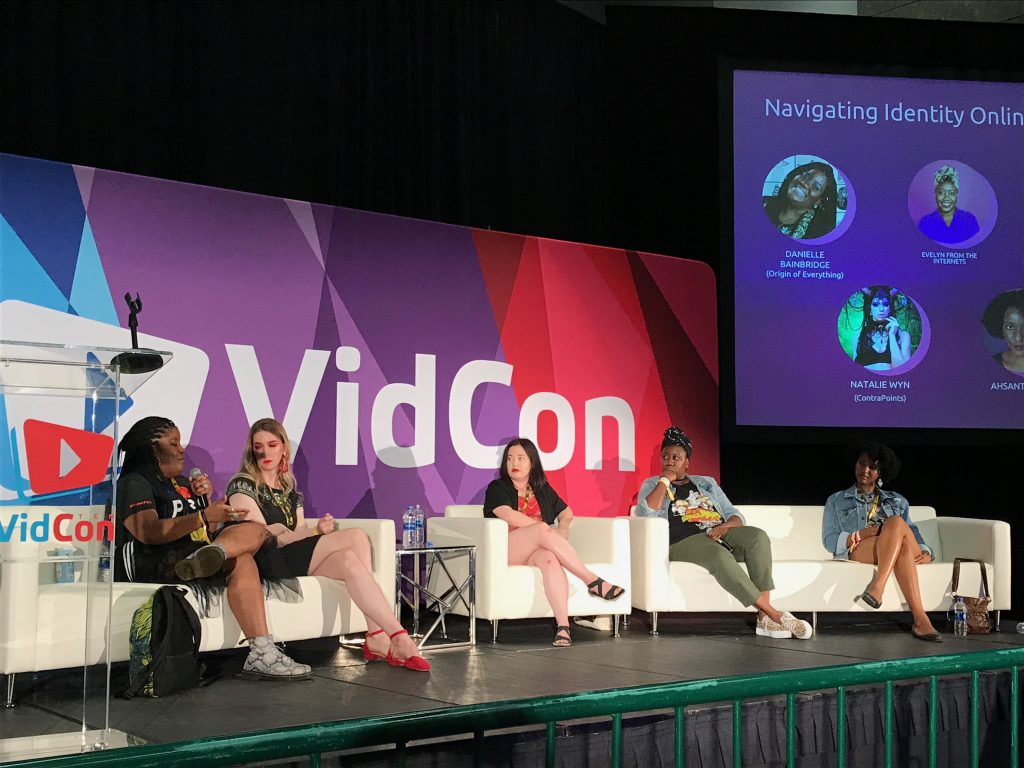 #VidCon2019: How YouTubers Manage Identity
