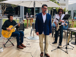 Sit back and relax this summer with Live Music on The Plaza at LBX!