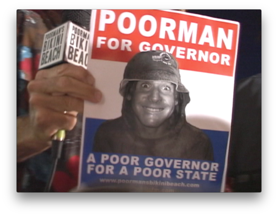 Poorman's Radio Days: Poorman for Governor!