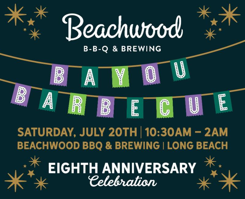 Beachwood BBQ & Brewing Turns 8! What the Ale!