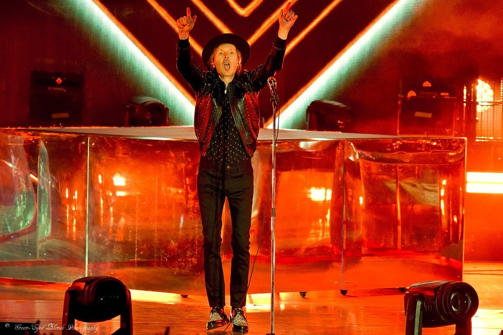 Beck and Cage the Elephant Deliver at FivePoint Amphitheatre