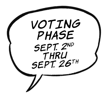 Voting Phase - Sep. 2nd - Sep. 26th