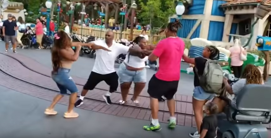 Family Fight at Disneyland's Toontown Leads to Criminal Charges