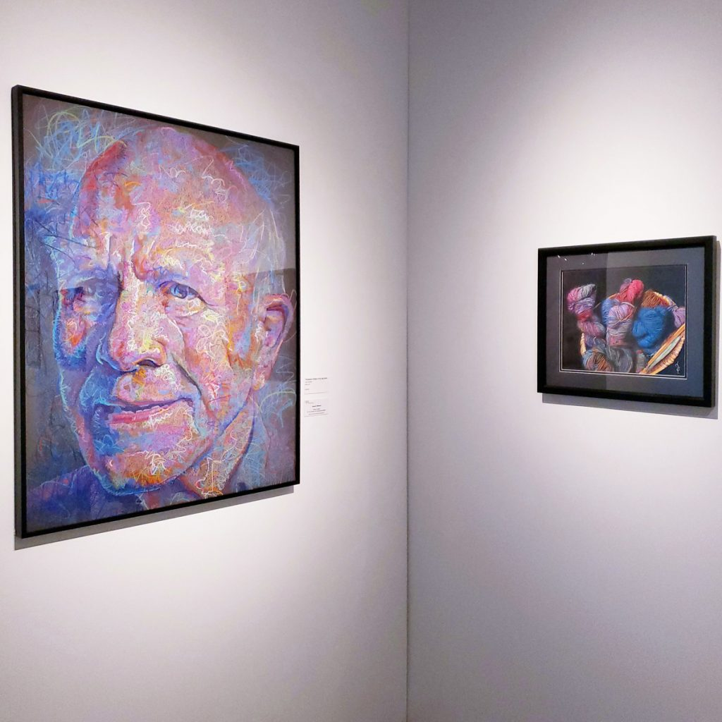 Brea Gallery Shows Off What the Colored Pencil Society of America Can Do