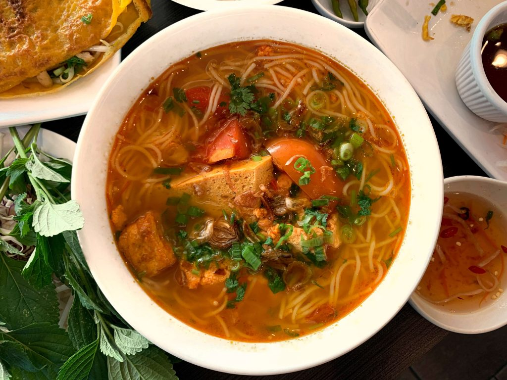 Golden Flower Veggie's Bún Riêu Is 405-Traffic-Worthy