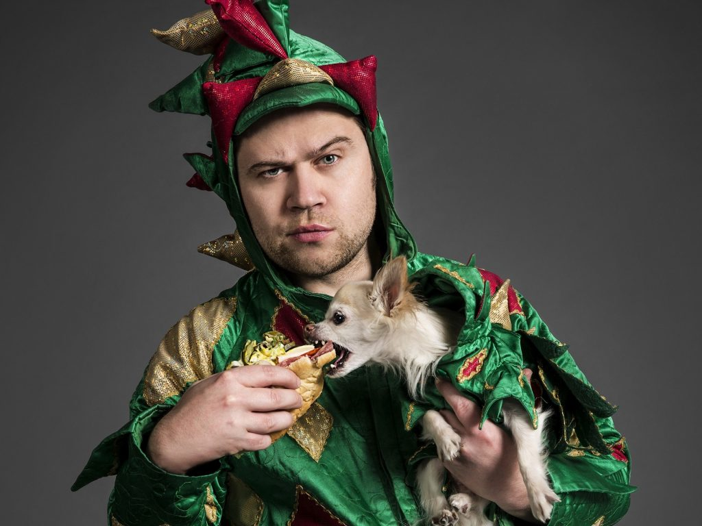 Piff the Magic Dragon Brings Magic, Comedy and a Chihuahua to Segerstrom
