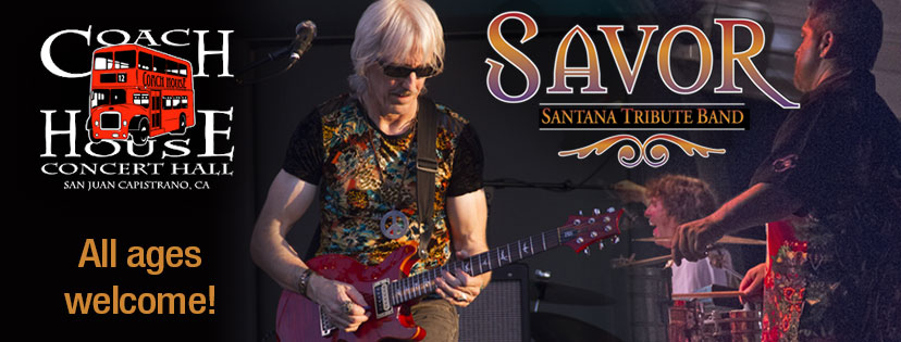 Santana Tribute Concert at The Coach House