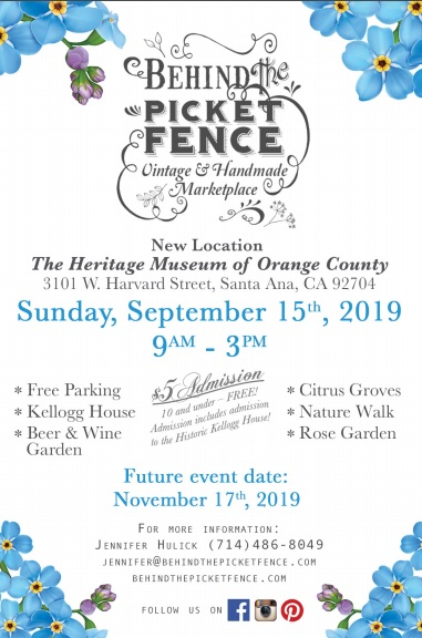"Behind The Picket Fence ""Vintage and Handmade Marketplace"""