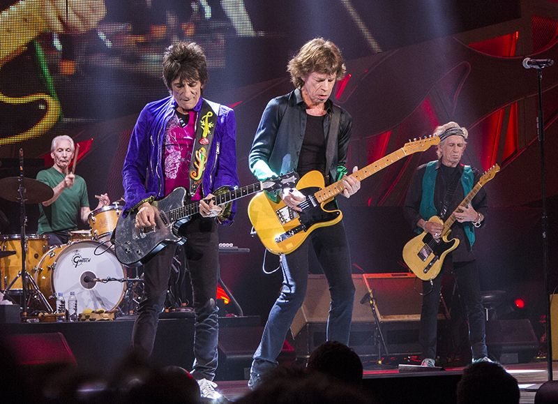 The Rolling Stones Bring a New Wrinkle to the Rose Bowl