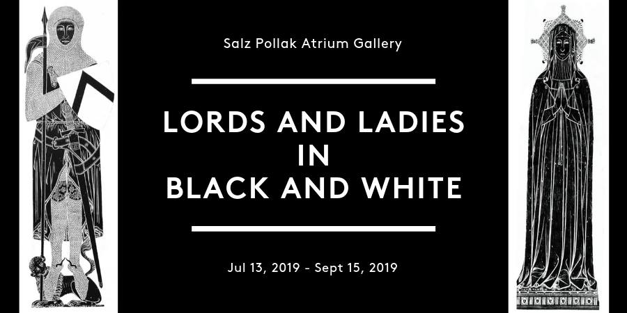 Lords and Ladies in Black and White