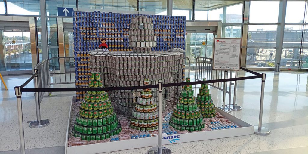Invest Your Time (and Funds) Into Seeking Out Canstruction Orange County's Design-Build Contest Entries