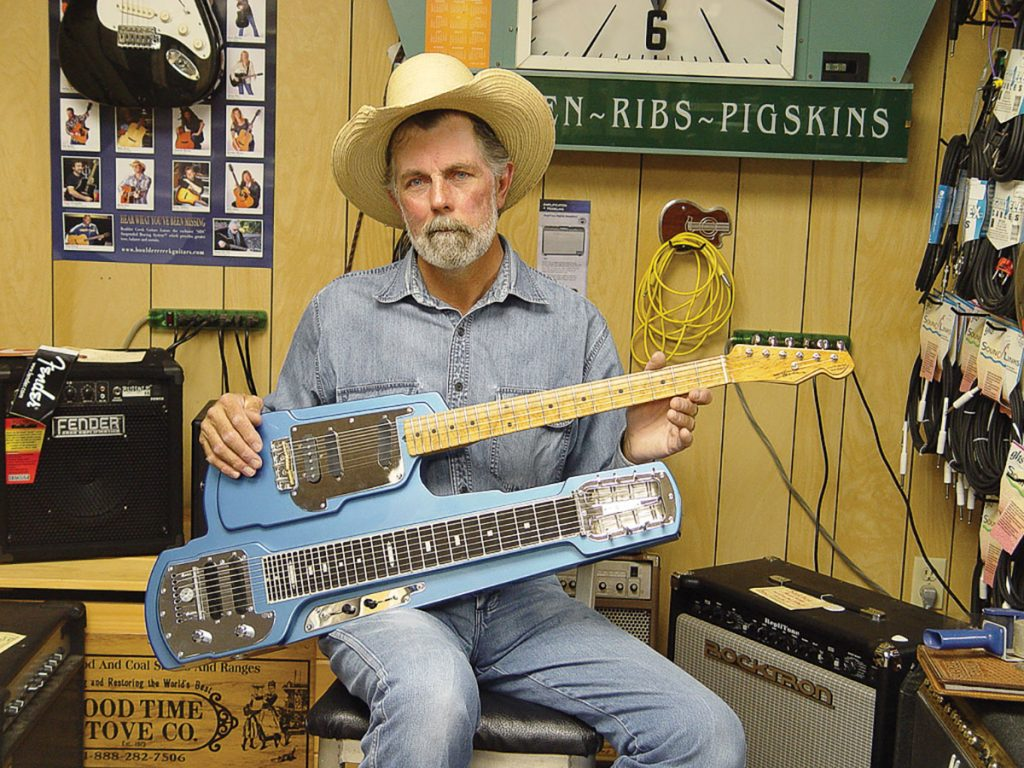Man of Guit-Steel: Meet the Luthier Who Helped Junior Brown Create His Signature Instrument(s)