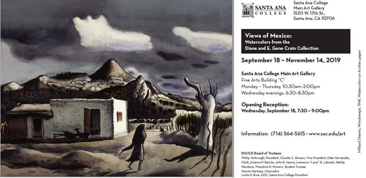 Views of Mexico: Watercolors from the Diane and E. Gene Crain Collection
