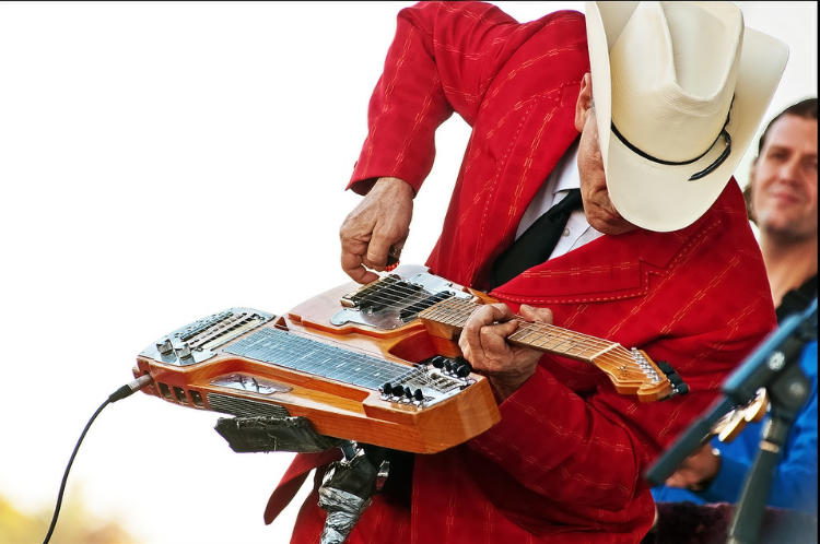Guit-Steel is Not the Only Invention Junior Brown Dreamed Up