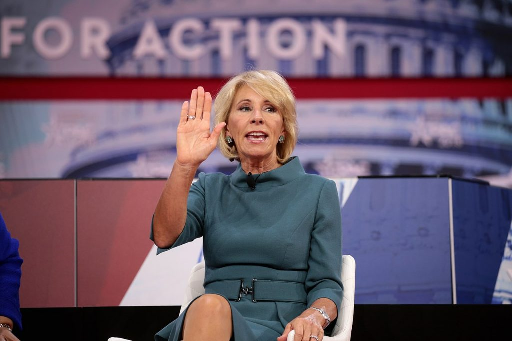 Jail for Betsy Devos Over Corinthian Student Debt Collection?