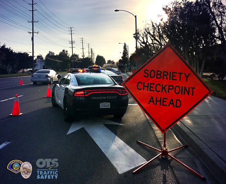 DUI Checkpoint in Anaheim TONIGHT (Oct. 11)