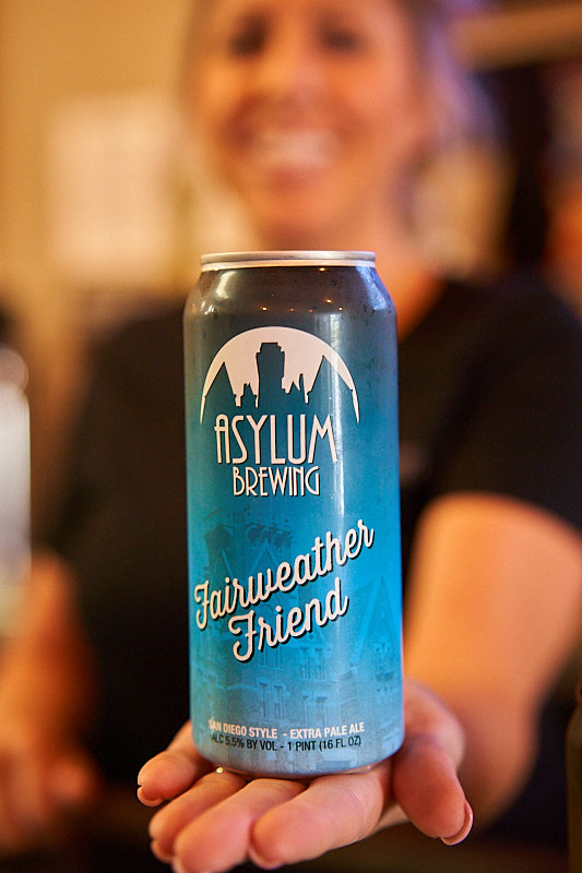 Asylum Brewing Levels Up with Cans! What the Ale!