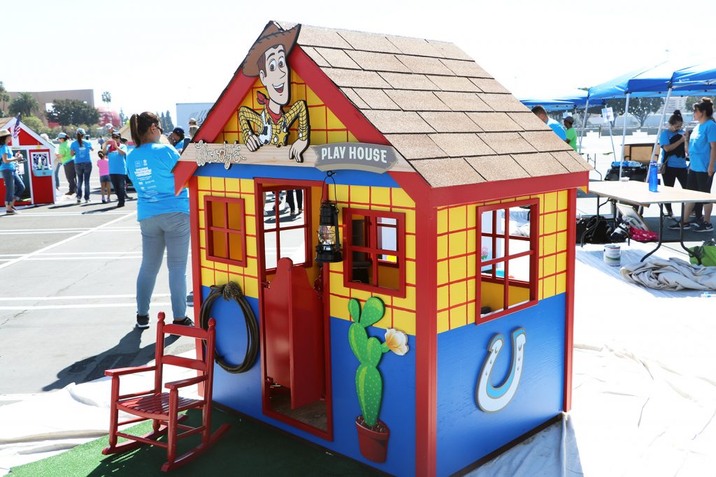 Habitat for Humanity OC Gives Back With Playhouse Decorating Contest