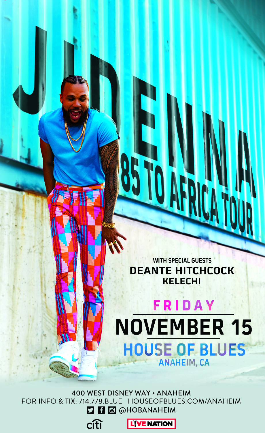 JIDENNA – 85 to Africa Tour