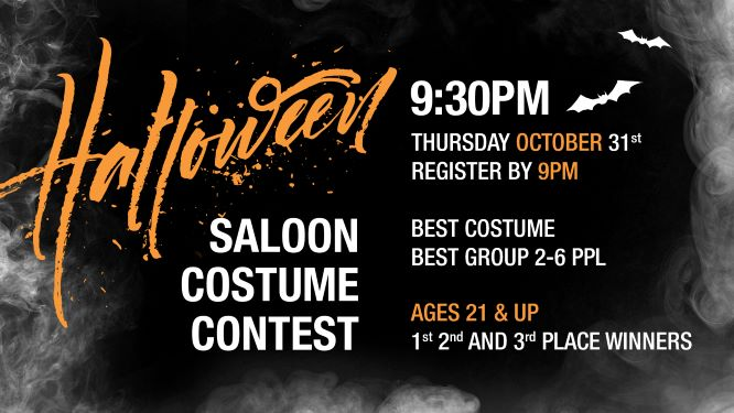 Halloween Costume Contest and Line Dance Thursday!