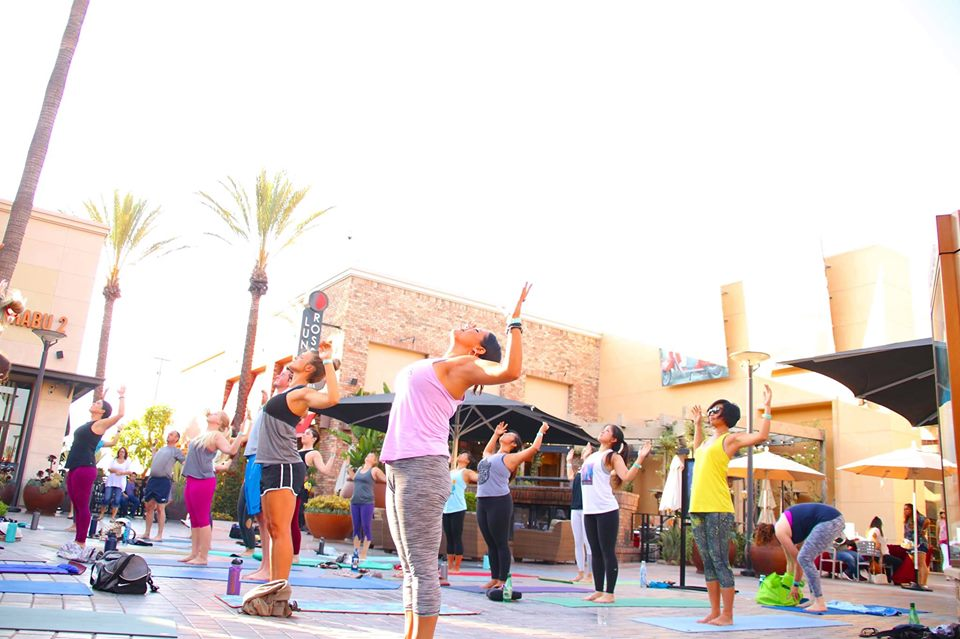 Mess Hall Market's ALL NEW Weekly Outdoor Yoga Class!