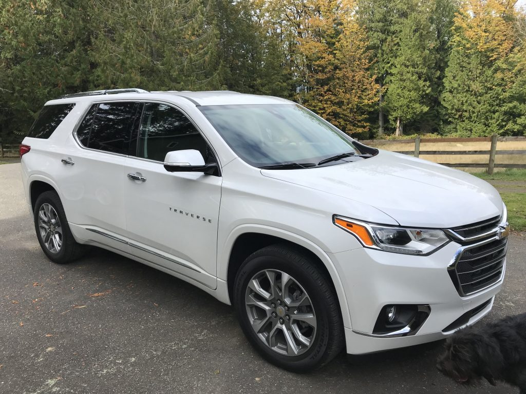 2020 Chevrolet Traverse Premier Handles Vacation Duties with Aplomb