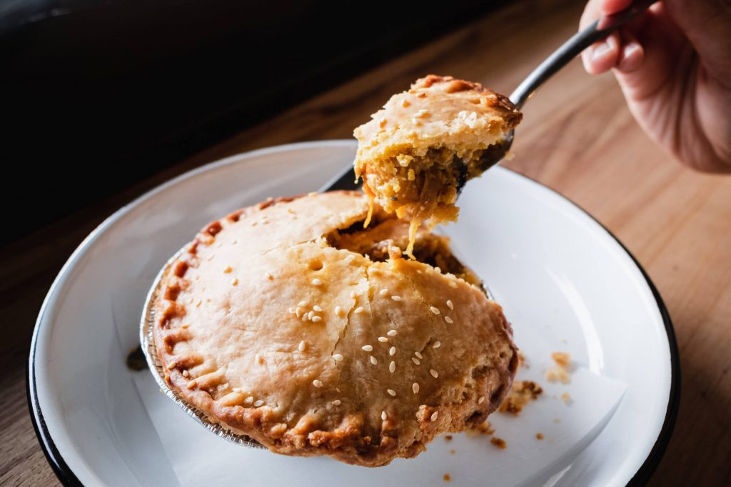 In Pie We Crust: This Roasted Veggies and Yellow Curry Pot Pie Will Win You Over
