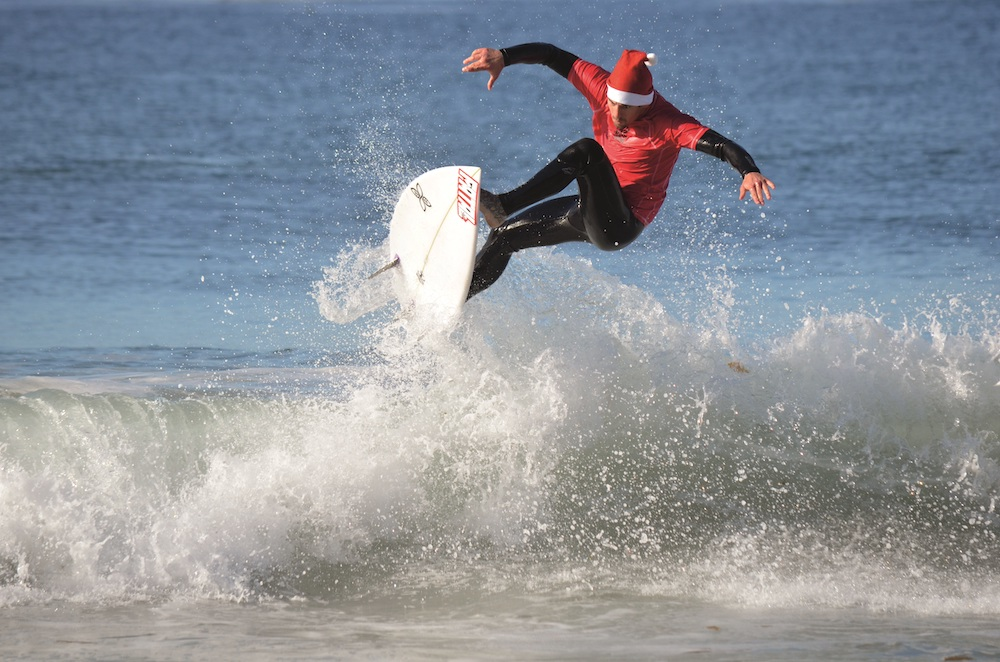 9th Annual Surfing Santa & Stand Up Paddle Boarding Contest, Sat. 11/23 & Sun. 11/24